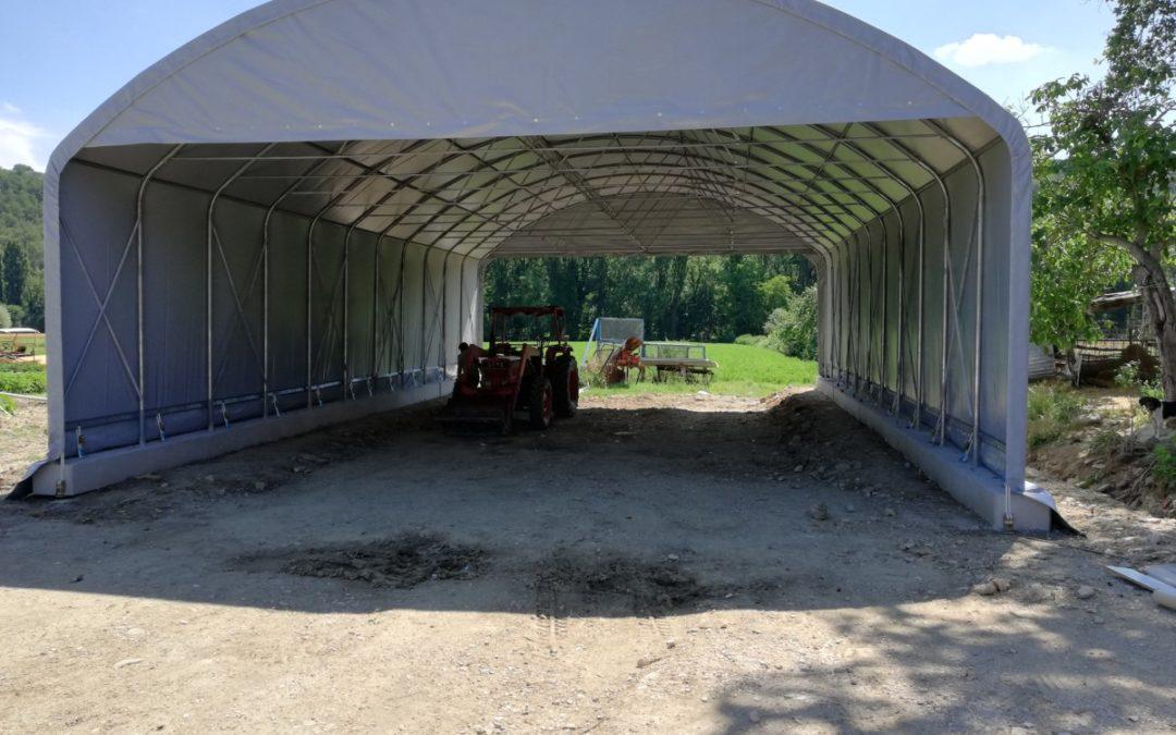 Tunnel Agricolo a Gamba Diritta