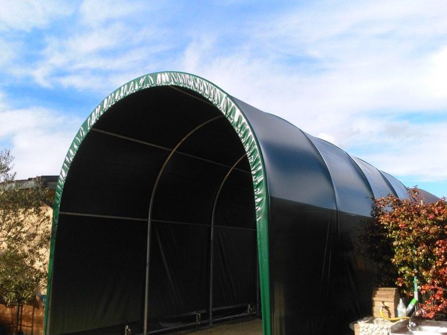 copertura camper arco Installata a Spello
