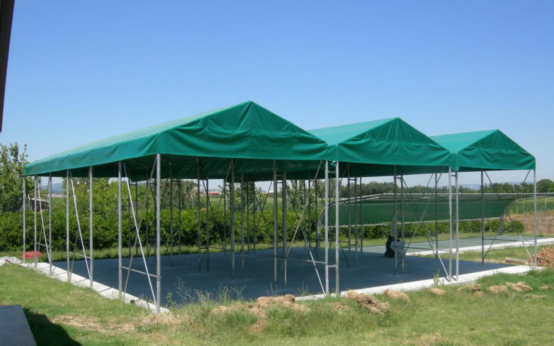 copertura camper modulare installata a Bastia