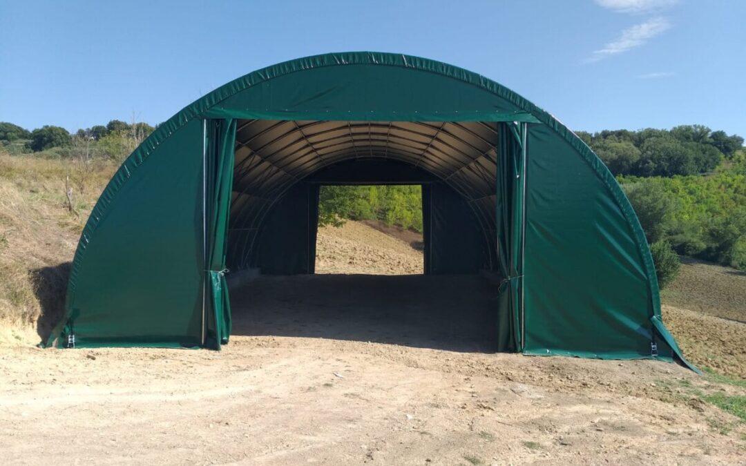 Tunnel agricolo modello ad arco
